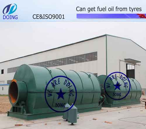 Recycling pyrolysis plant auxiliary equipment