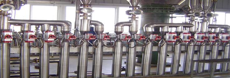 Continuous oil refining control part