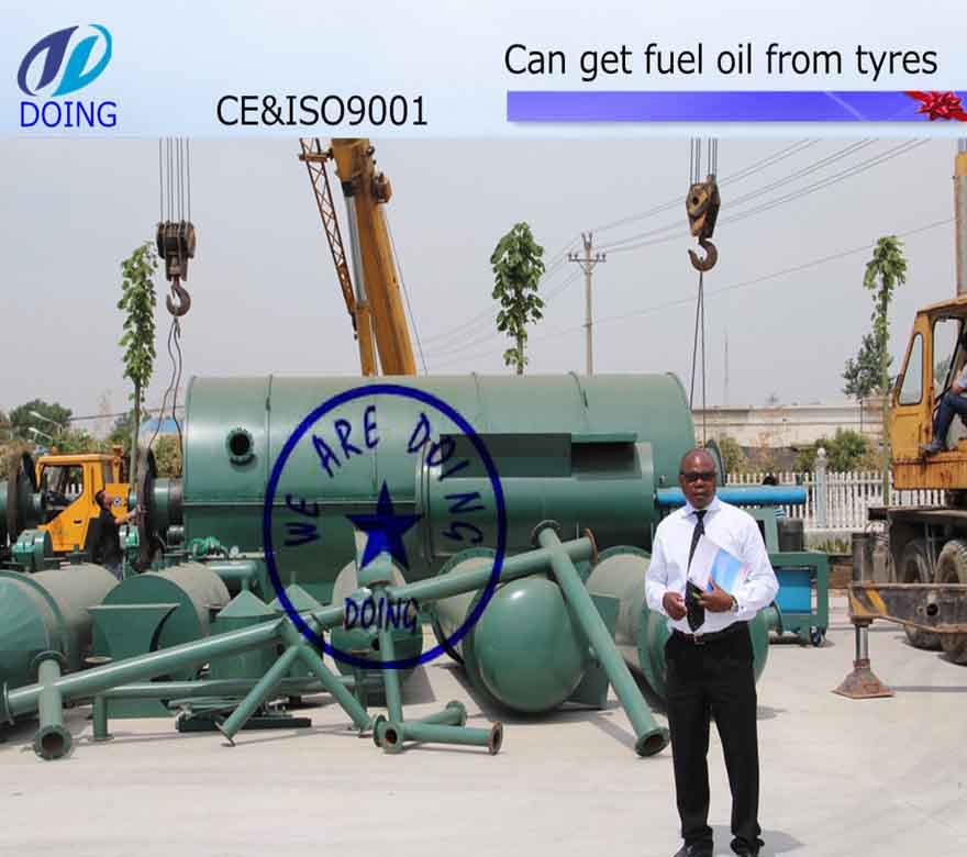 Doing tyre pyrolysis plant in India