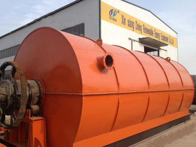 waste tire refinery equpment-tyre recycling machine