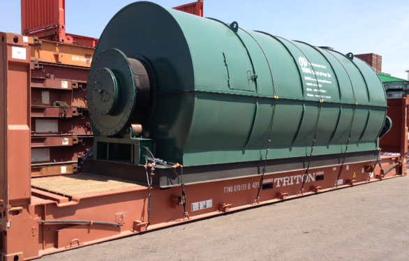 The Latest Hot Sale Waste Tyre Recycling Pyrolysis Plant