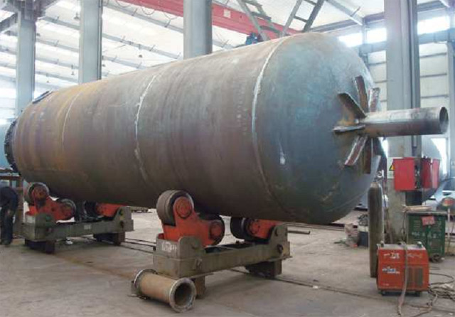The reactor of waste  rubber/waste plastic/waste tire recycling pyrolysis plant