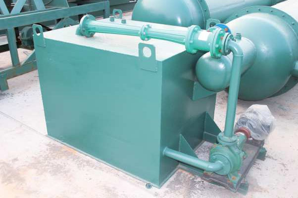 Pyrolysis plant safety device