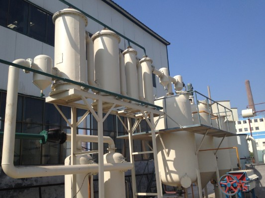 waste tire refinery equipment