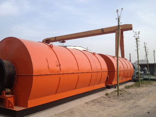 Municipal solid waste pyrolysis industry