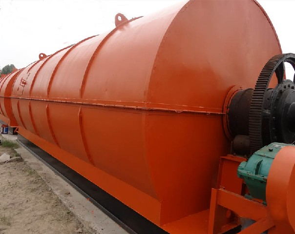 Waste tire pyrolysis industry