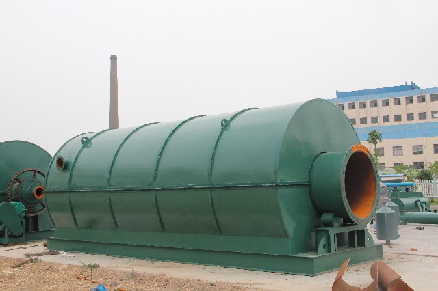 Straw biomass pyrolysis machine power generation industry