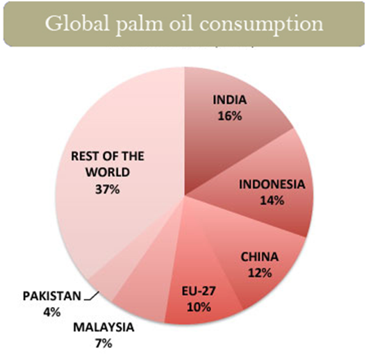Palm oil importers in India
