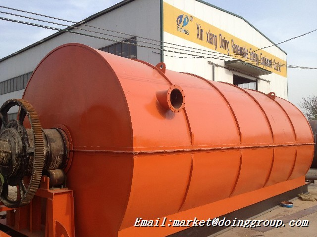 Waste tire pyrolysis plant suppliers-DOING