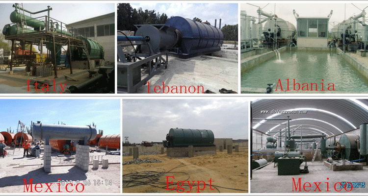 How to build waste tyre pyrolysis machine?