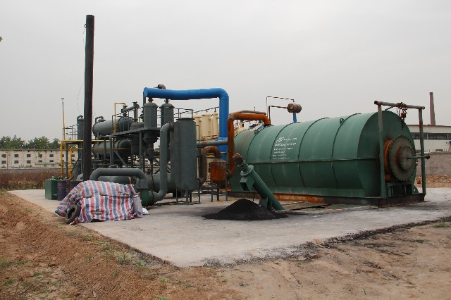 DOING waste pyrolysis plant features