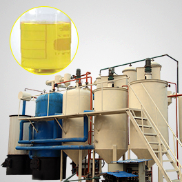 Waste oil distillation machine advantages