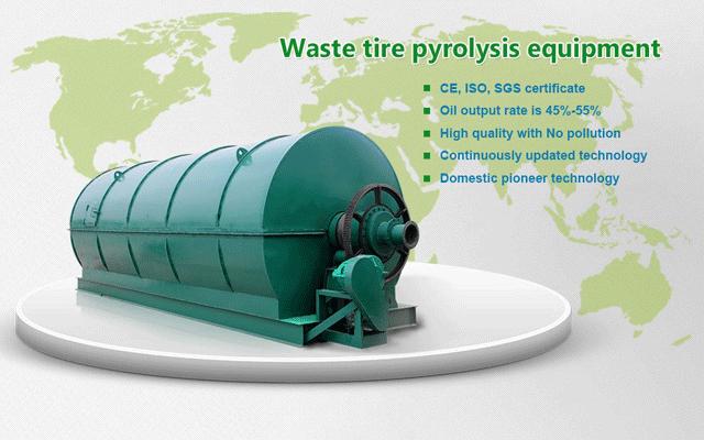 Technology of pyrolysis plant