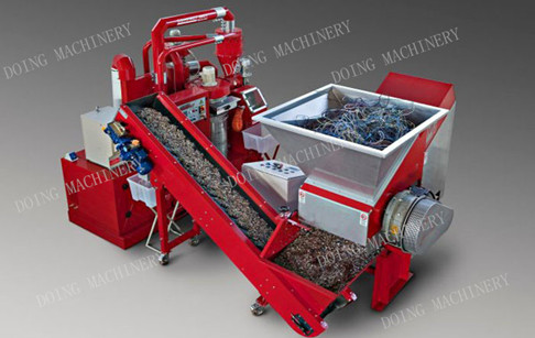 Copper  granulator machine