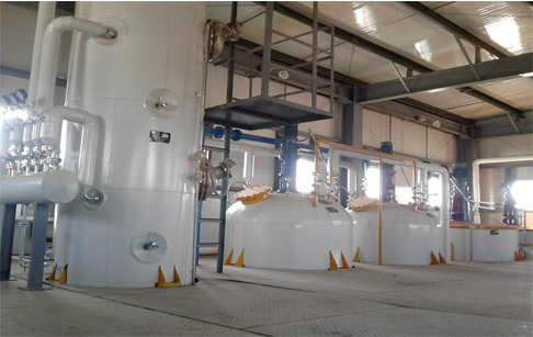 What is the cooking oil refining process ?