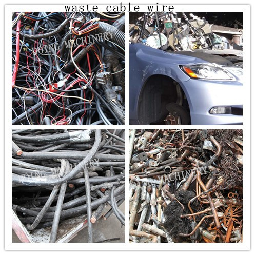 Where to recycle scrap copper cable wire ?