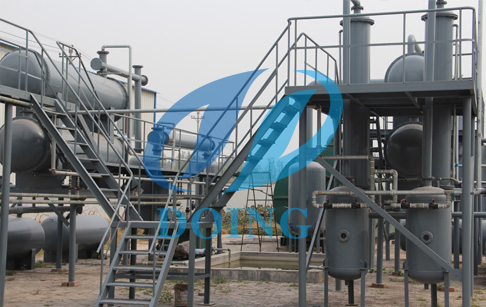 Deposit received for DOING wast plastic pyrolysis oil machine from Ethiopia Cust...