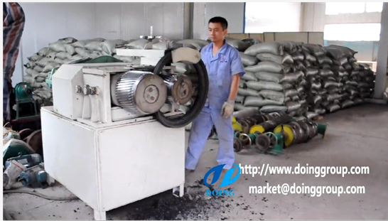 Tire steel wire rolling separator