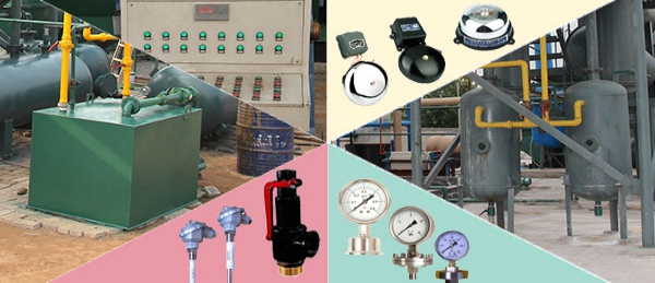 Safety measures for waste tire/plastic pyrolysis plant