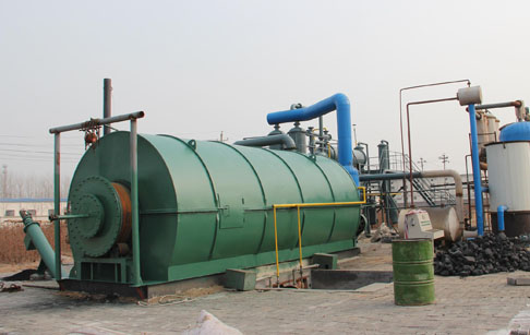 What is Plastic and tire pyrolysis?