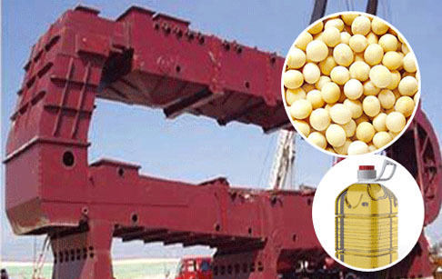How to make soybean oil ?