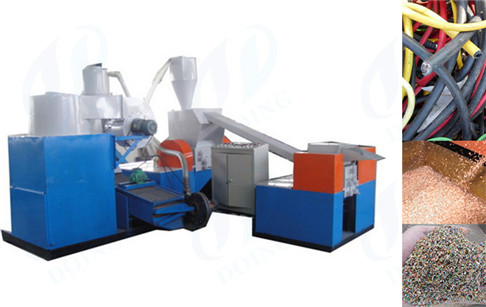 What is copper wire recycling machine used for?