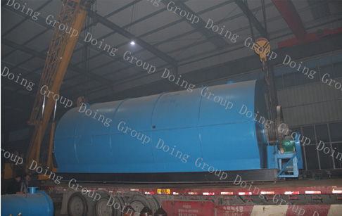To deliver 10T capacity waste tyre pyrolysis plant to Vietnam