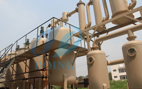 Oil refinery machine for tyre oil,plastic oil,engine oil