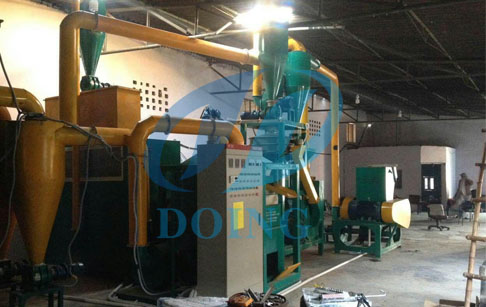 PCB recycling machine  running video