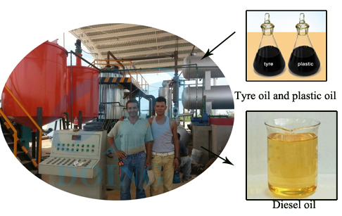What's the advantages of crude oil fractional distillation machine?