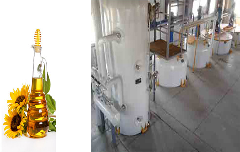 Main function of sunflower oil refining machine?