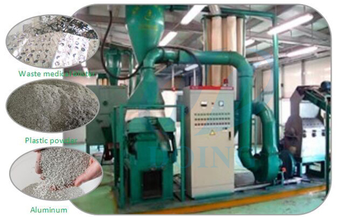 Which type of aluminum  recycling  machine?