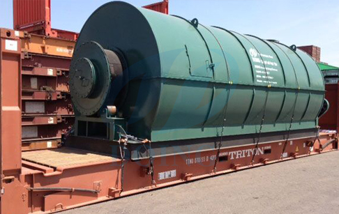 DY-1-5 waste plastic pyrolysis plant