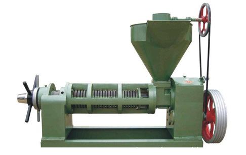 Cooking oil extrusion machine