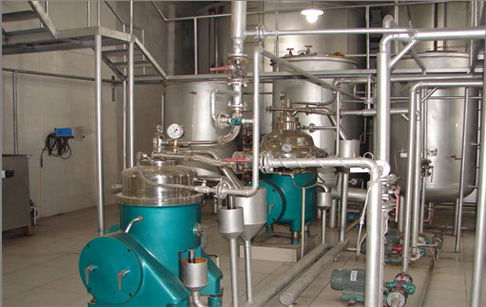 Principle of cooking oil refining equipment hydration degumming?