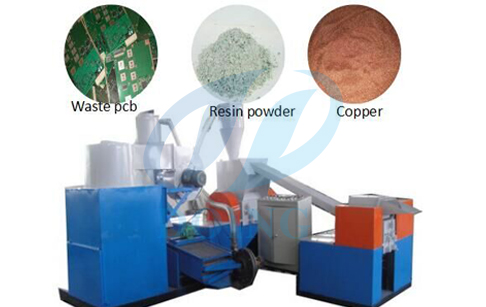 The maintenance of PCB circuit board recycling machine