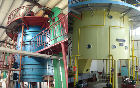 Top rice bran oil extracted rate cooking oil production line