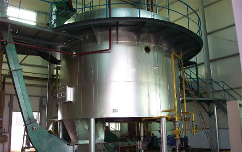 Rice bran oil manufacturing plant