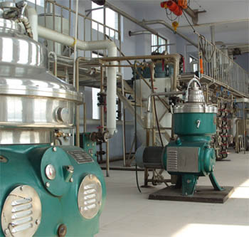 Soybean oil refining machinery_Edible Oil Refinery Plant