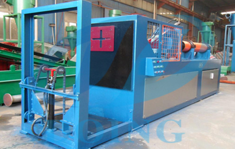 Steel wire pulling machine