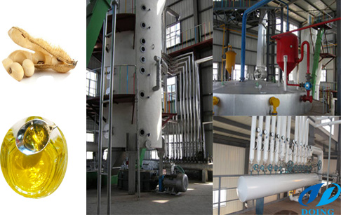High oil yield rate soybean oil plant
