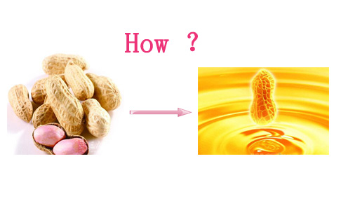 How to make peanut oil at home ?