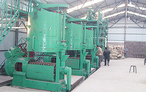 Daily maintenance of vegetable oil machine