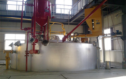 Influence of plant size on oil extraction machine