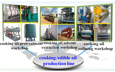 DOING vegetable oil refining process function
