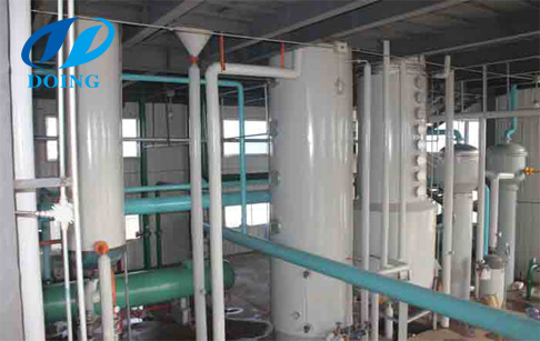Soybean seed oil extraction process in Zambia