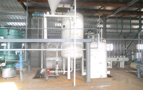 Finished installation palm oil refinery plant for DRC Congo cutsomer