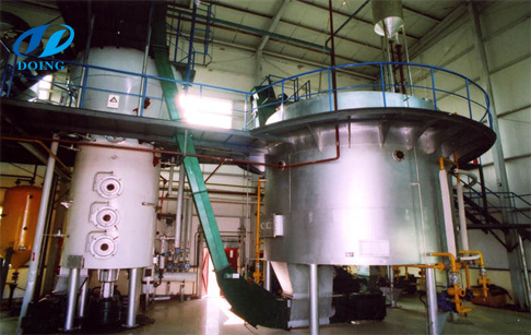 Features of Rice bran oil solvent extraction (leaching) plant