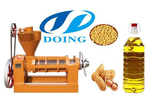 A brief introduction of the cooking screw oil press machine