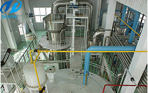 Solvent oil extraction plant